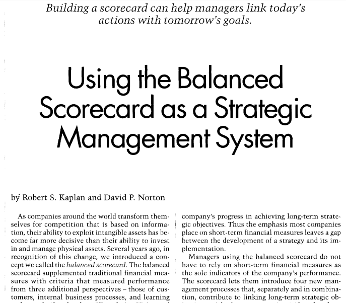Business_Using_The_Balanced_Scorecard_As_A_Strategic_Management_System